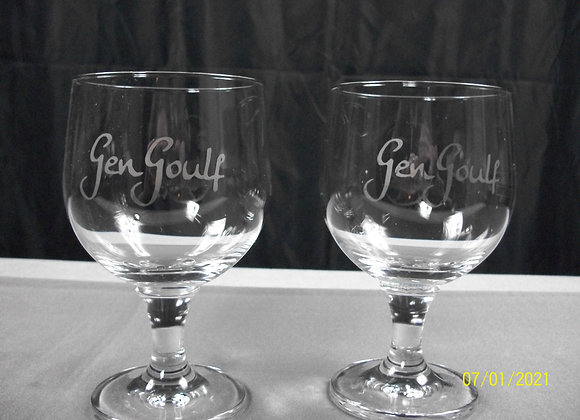 Lot de 2 verres Gen Goulf