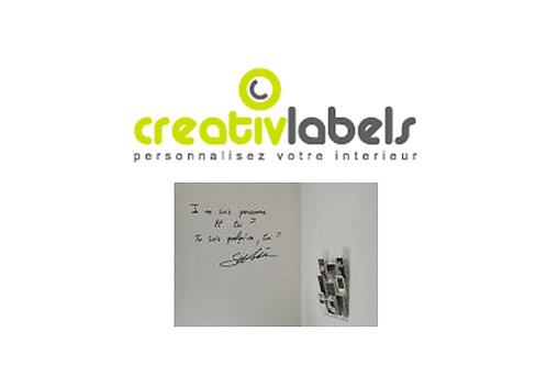 Stickers (prix htva au m2)