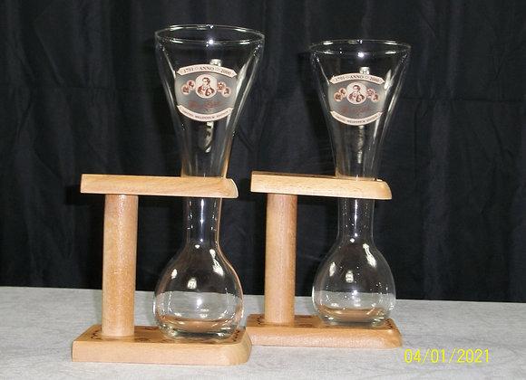 lot de 2 verres à Kwak Millenium edition