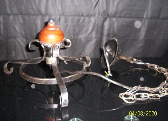 Suspension pour Lampe en fer forgé