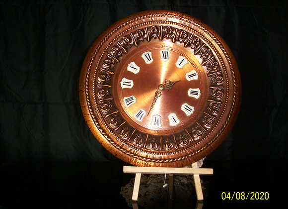 Superbe Horloge en cuivre