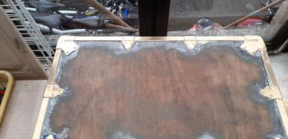 Préparation zone pour peinture 3