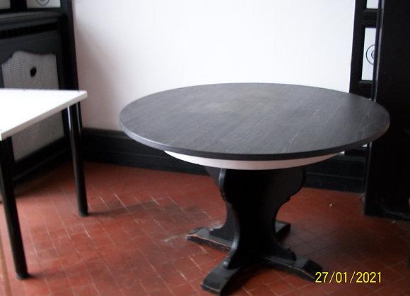 Grande table ronde style contemporain