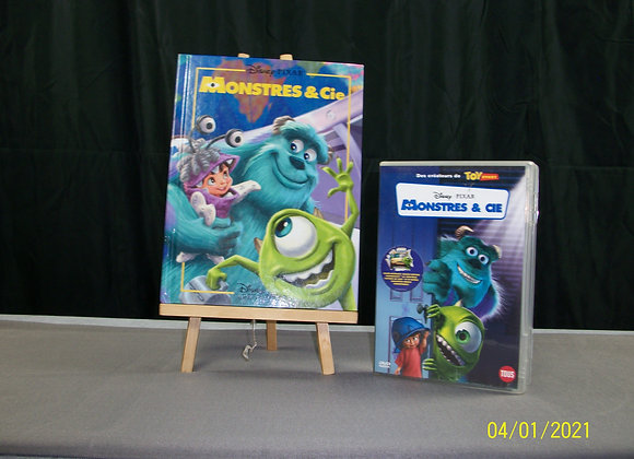 Livre et dvd Monstres et CIE