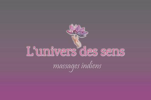 """Bon cadeau """"massage au choix"""""""
