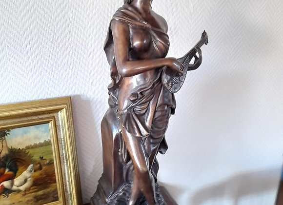 Lot de 3 Bronzes A.Moreau