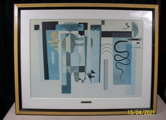 Lithographie de Kandinsky (N°12/35)