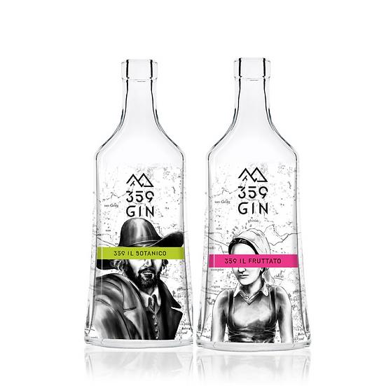 Pack 2 Bottiglie 359 Gin LIMITED EDITION