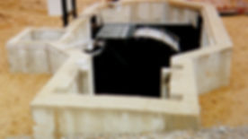 Plate-supported drum screen