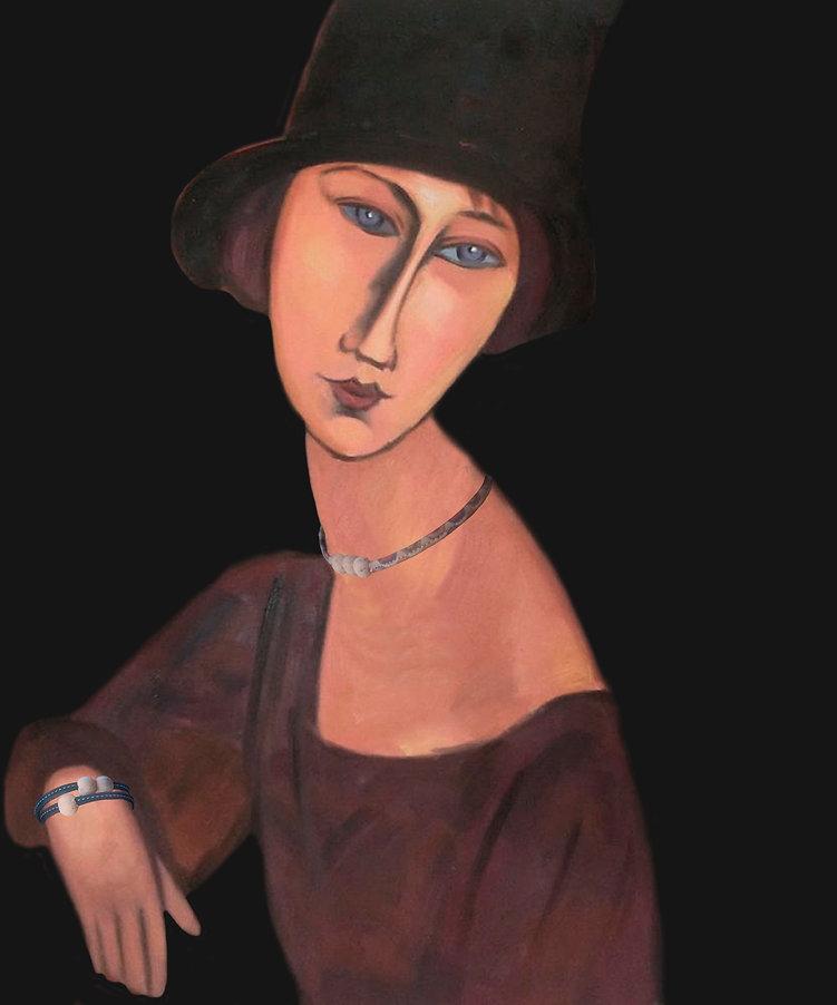Jeanne Hebuterne Bracciale Girocollo A.j