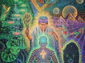 Symbolik eines spirituellen Bildes