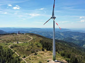 Die energetische Wirkung von Windrädern