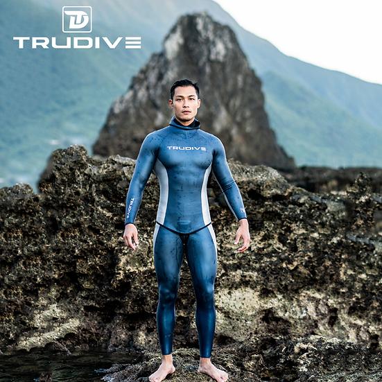 TRUDIVE Wetsuits(スキン)男性2色