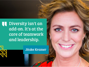 Why inclusive leadership matters more than ever with Jitske Kramer