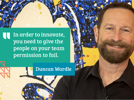 4 tips for embedding a culture of creativity with Duncan Wardle