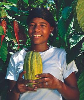 Cocoa farmer, Dominican Republic