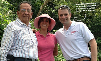 Dr Luis Urrutia, Lilliana Navarez and Bryan Unkles