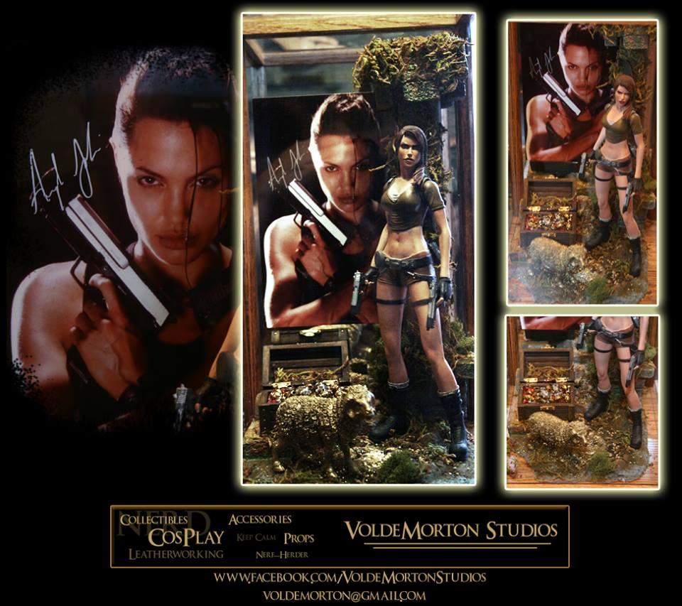 Lara Croft Tomb Raider Diorama