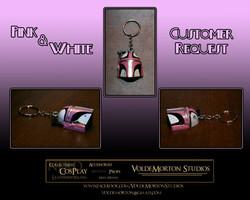 Custom Mandalorian keychain