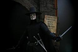 V for Vendetta Diorama