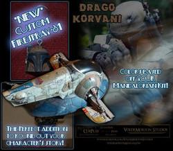 Drago's ship repaint