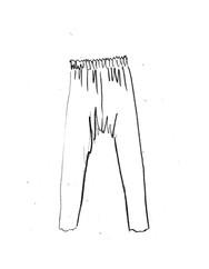 Linen Harem Trousers