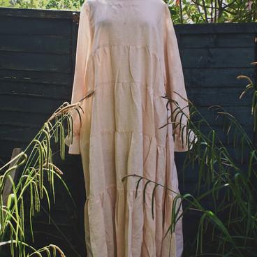 Floge Dress Seville Stripe