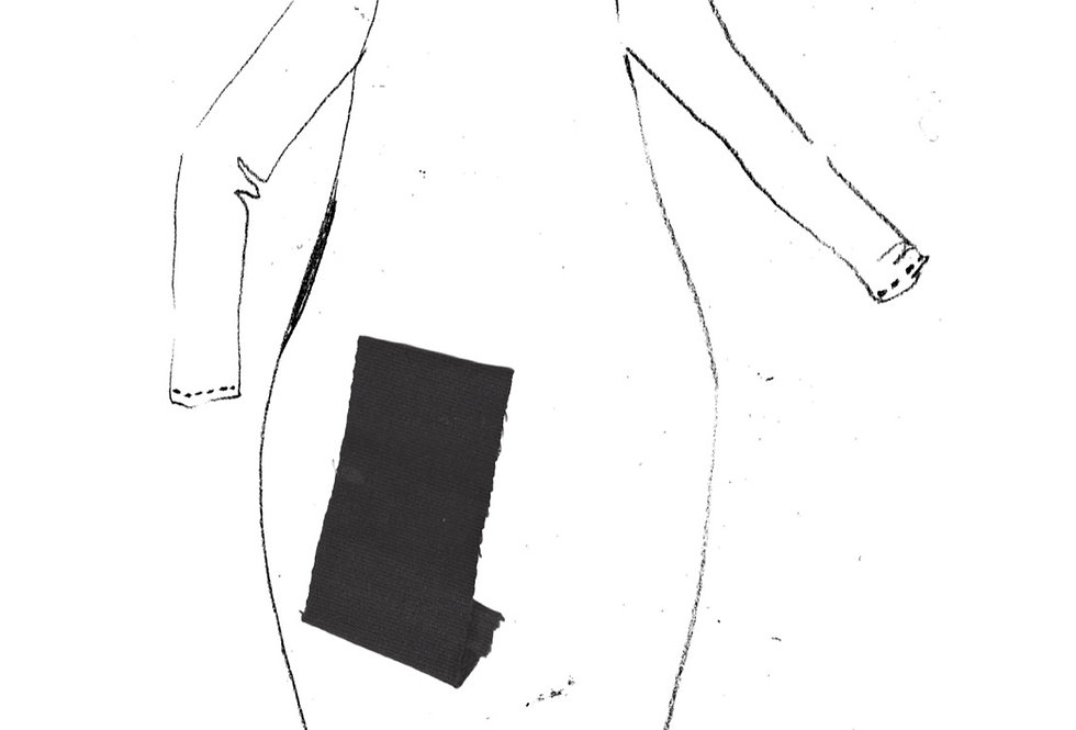 Frink Dress Cobble Grey