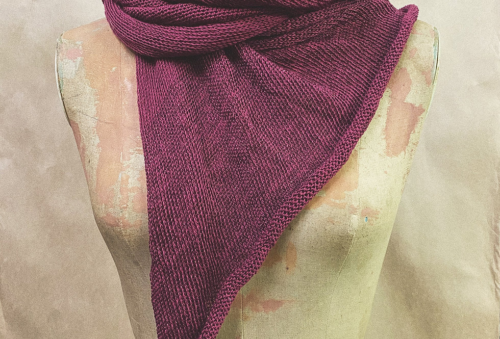 Maier Oversized Scarf with Sparkle