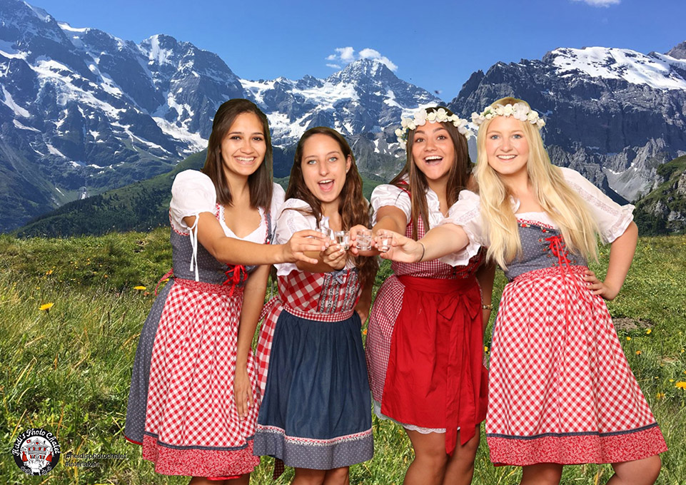 Swiss Happening fun times bei Heidis
