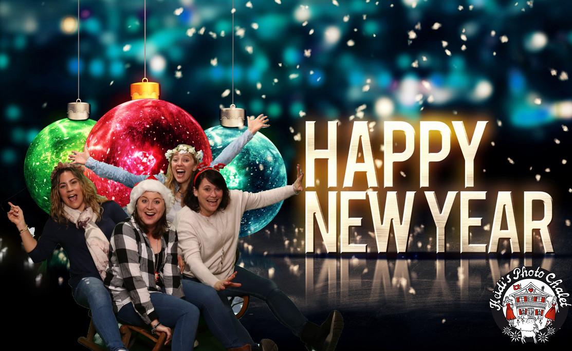 Happy New Year Grüsse bei Heidi's Photo Chalet Interlaken
