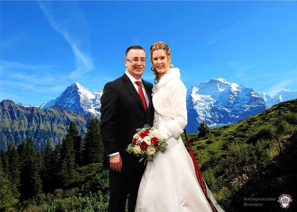 Heidi's Photo Chalet Hochzeitsfoto