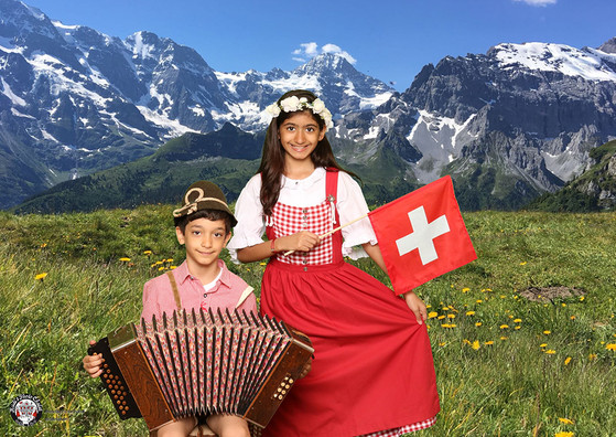 Special souvenir from Switzerland