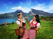 20Traditional Swiss outfit rental at Heidi's Photo Chalet