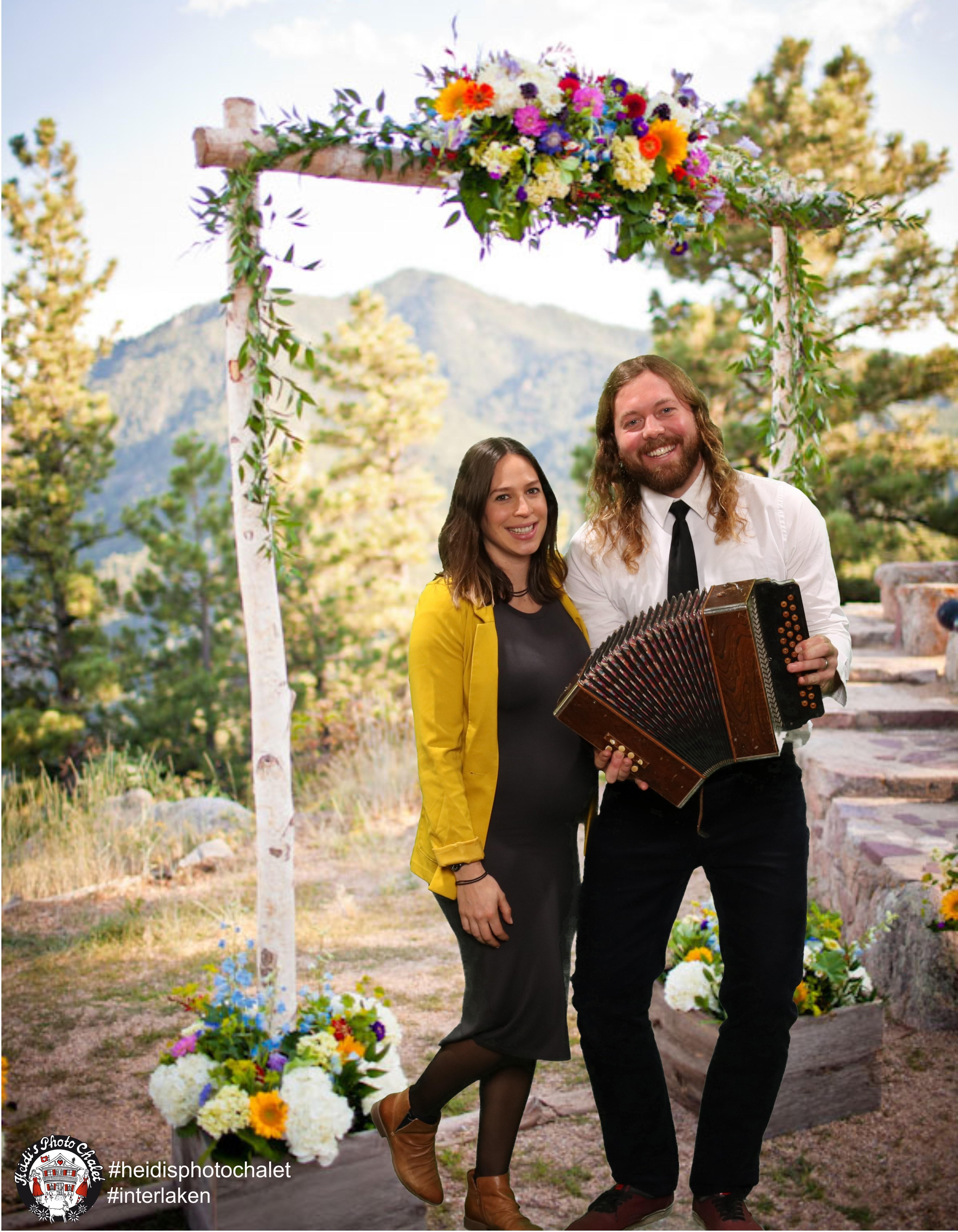Hochzeits-Apéro Heidi's Photo Chalet
