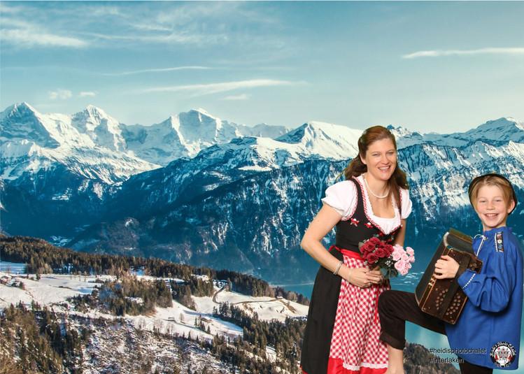 Geburtstagskarte bei Heidi's Photo Chalet Interlaken