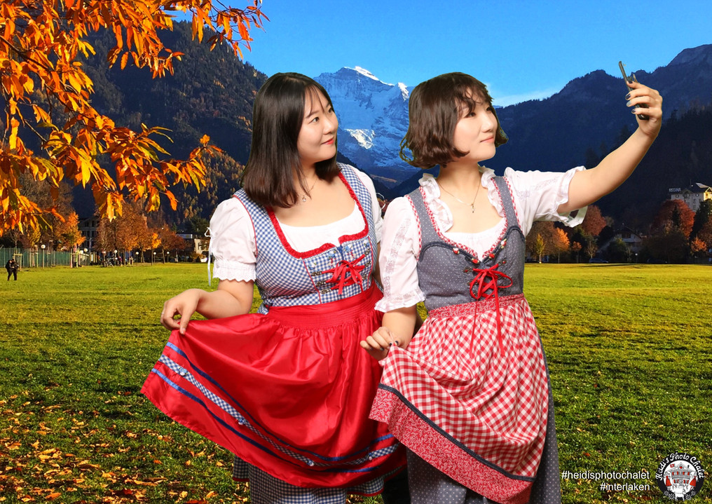 Traditional Swiss outfit rental Heidi's