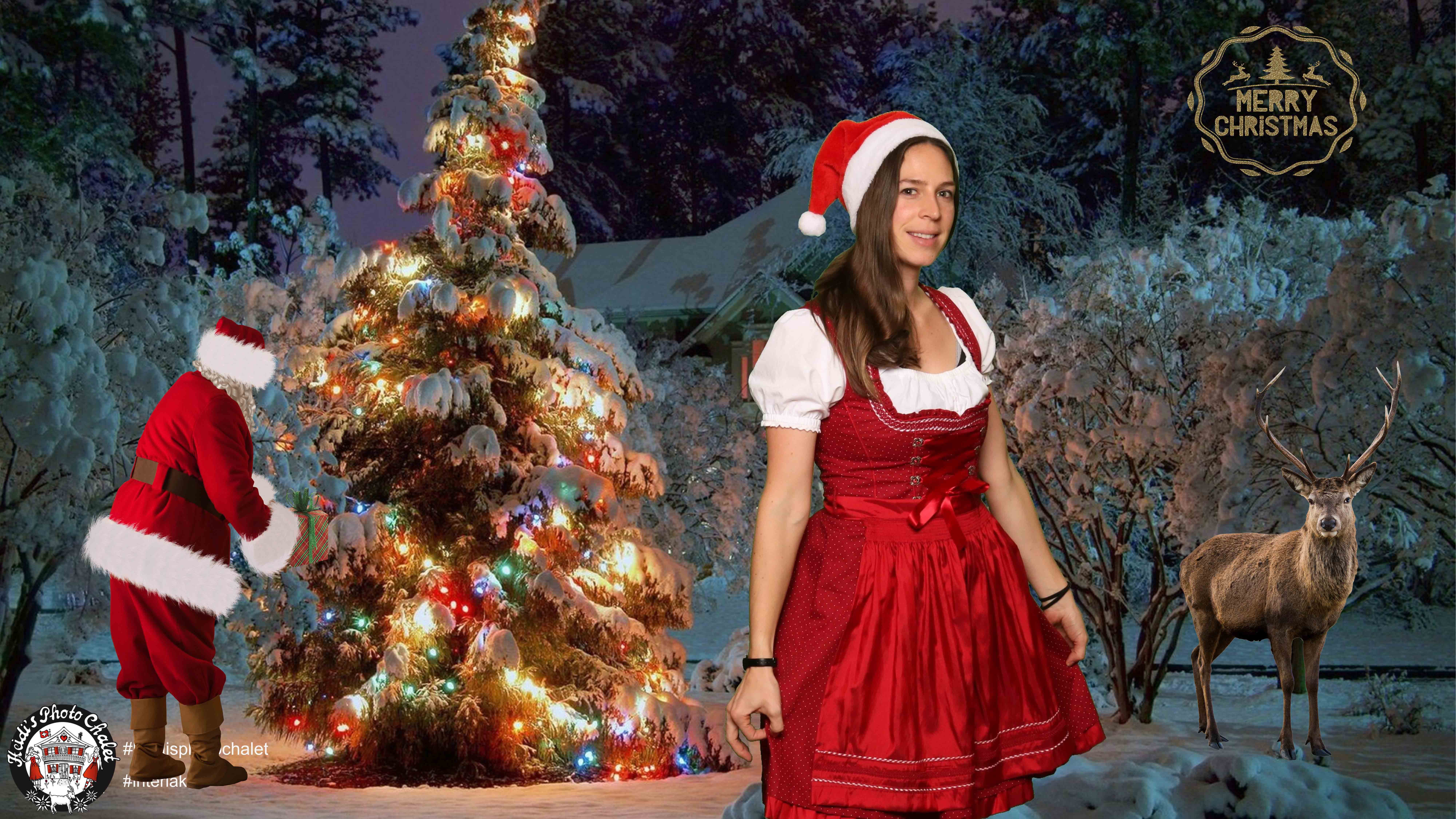 Merry Christmas - Festtagskarten