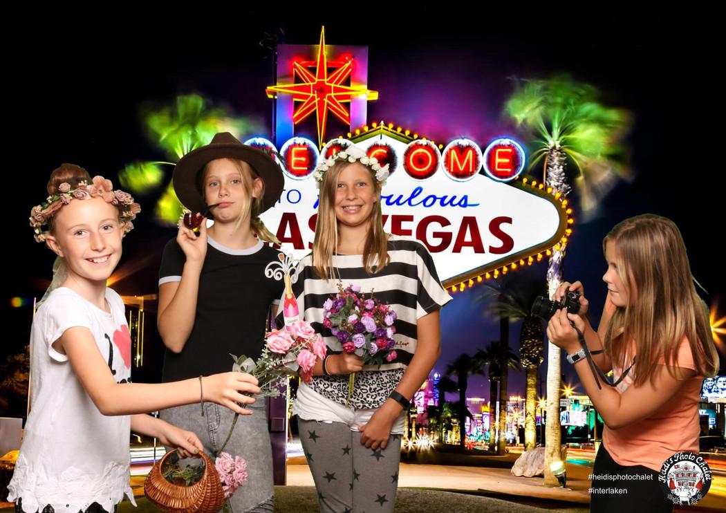 Vegas Baby - Kindergeburstags Party in Minuten Rund um die Welt - Heidi's Photo Chalet in Interlaken