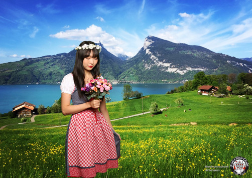Get yor stunning Swiss photo at Heidi's Photo Chalet