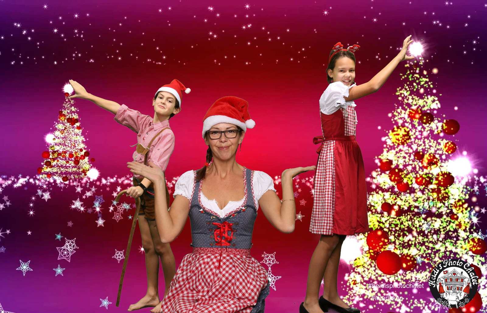 Originelle Weihnachtskarten.Originelle Weihnachtskarten By Heidi S Photo Chalet Interlaken