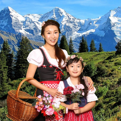 Stunning Swiss traditional photos in Interlaken