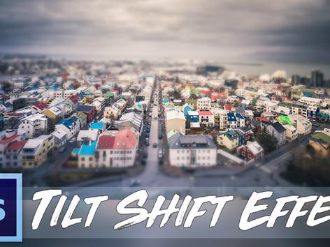 Tilt-Shift Effekt erzeugen (MIT und OHNE Filter)