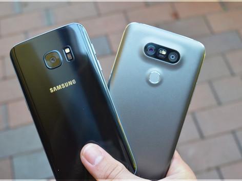 Samsung Galaxy S7 vs LG G5 - 4 Features, 4 Unterschiede