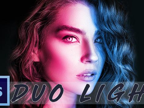 Duo Light Effekt (Doppelbeleuchtung im Porträt)