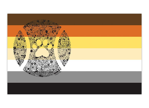 Bear Pup Pride Flag