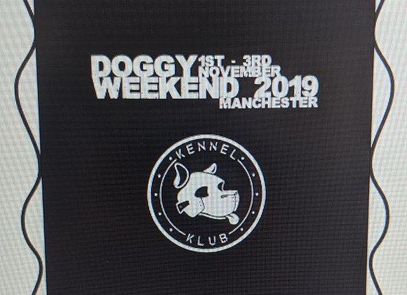 Doggy Weekend 2019 Bag