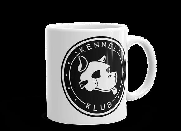 Kennel Klub White Mug