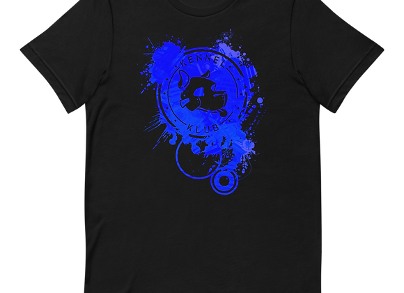Kennel Klub Blue Splat Tee