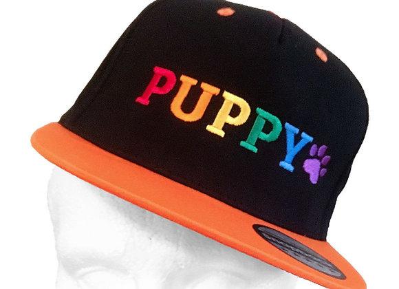 Puppy Snap  Back Cap
